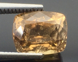 2.35 Ct Axinite World's Rarest Top Luster Gemstone From Pakistan. AX 02