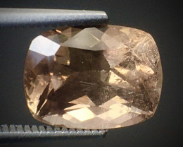 2.90 Ct Axinite World's Rarest Top Luster Gemstone From Pakistan. AX 07