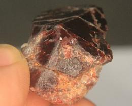 Wow Very Beautiful Garnet Crystal water eaten From Pakistan