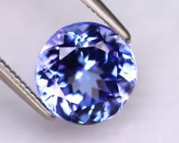 Tanzanite 2.78Ct Natural VVS Purplish Blue Tanzanite DR489/D4