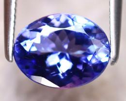 Tanzanite 1.82Ct Natural VVS Purplish Blue Tanzanite DR389/D4
