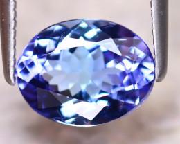 Tanzanite 2.07Ct Natural VVS Purplish Blue Tanzanite DR391/D4