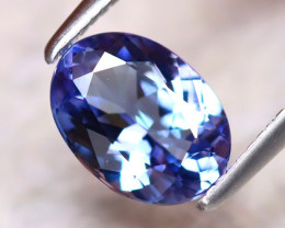 Tanzanite 1.37Ct Natural VVS Purplish Blue Tanzanite DR392/D4