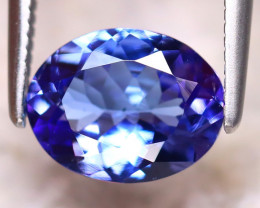 Tanzanite 1.60Ct Natural VVS Purplish Blue Tanzanite DR393/D4
