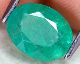 Zambian Emerald 1.86Ct Oval Cut Natural Green Color Emerald  C2402