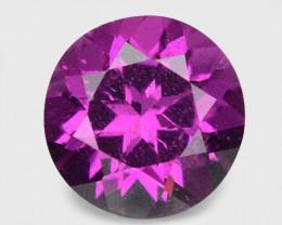 0.85 Cts Unheated Natural Purple Rhodolite Garnet Gemstone
