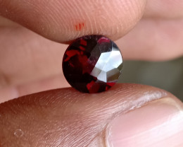 NATURAL GARNET ALMANDINE CHECKERED CUT 100% NATURAL+UNTREATED VA4414