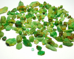 Beautiful Natural color Rough Emerald lot 250 Cts-Afghan#13