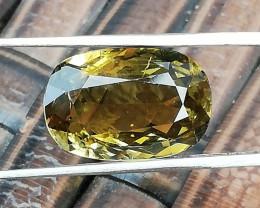 Tourmaline, 3.99ct, unique oval cut gemstone, great colour !
