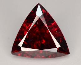 Big Size 6.15 ct Fancy Cut Red Garnet ~ KS