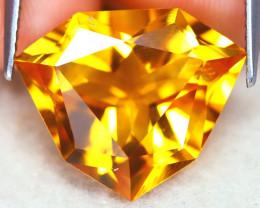 Citrine 8.35Ct VVS Designer Cut Natural Golden Yellow Citrine AT1145