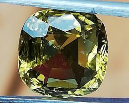 Tourmaline, 1.68ct, very beautiful colour good luster!