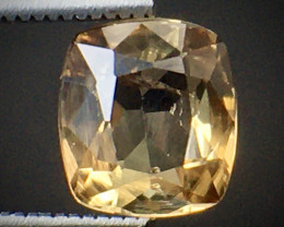 1.35 Ct Axinite World's Rarest Top Luster Gemstone From Pakistan. AX 20