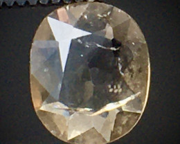 0.70 Ct Axinite World's Rarest Top Luster Gemstone From Pakistan. AX 21