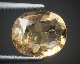 1.40 Ct Axinite World's Rarest Top Luster Gemstone From Pakistan. AX 23