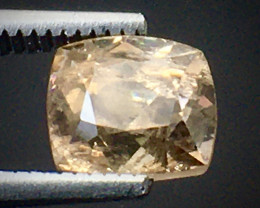 1.35 Ct Axinite World's Rarest Top Luster Gemstone From Pakistan. AX 27