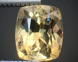1.25 Ct Axinite World's Rarest Top Luster Gemstone From Pakistan. AX 28