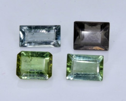2.04 Crt Natural Tourmaline  Faceted Gemstone.( AB 16)