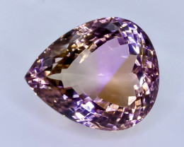 30.76 Crt Natural Ametrine  Faceted Gemstone.( AB 16)