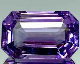 39.45 Ct Natural Amethyst Top Cutting Top Quality Gemstone.ATF 02