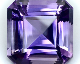 23.00 Ct Natural Amethyst Top Cutting Top Quality Gemstone.ATF 03