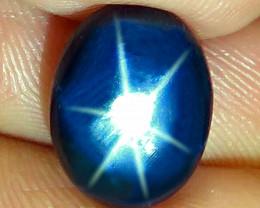 6.14 Carat Thailand Blue Star Sapphire - Gorgeous