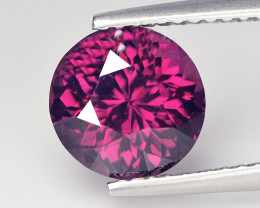 Marvelous 2.36 Cts Cylon Spinel Puple Red Round Portuguese Cut BGC576