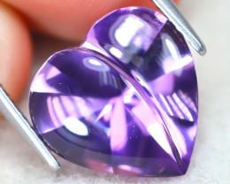 Amethyst 5.26Ct VVS Designer Cut Natural Purple Amethyst AT1153
