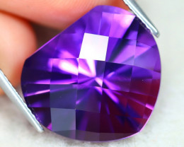 Uruguay Amethyst 13.28Ct VVS Designer Cut Natural Violet Amethyst AT1154