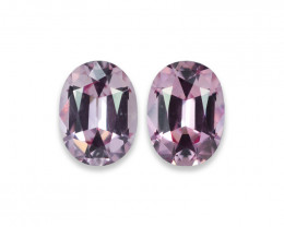 2.85 Cts Marvelous Lustrous Perfect Pink Spinel Pair