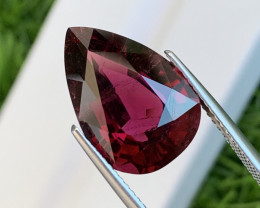8.76 Cts Top Quality Dark Red Natural Rubellite Tourmaline