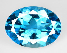9.85 Carat London Blue Natural Topaz Gemstone