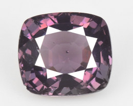 *NoReserve* Spinel 1.46  Cts Un Heated Very Rare Purple Pink Color Natural