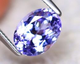 Tanzanite 1.65Ct Natural VVS Purplish Blue Tanzanite ER275/D4