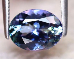 Tanzanite 1.97Ct Natural VVS Purplish Blue Tanzanite ER277/D4