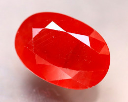 Sapphire 4.90Ct Natural Reddish Orange Sapphire ER285/A38