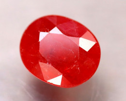 Sapphire 4.30Ct Natural Reddish Orange Sapphire ER286/A38
