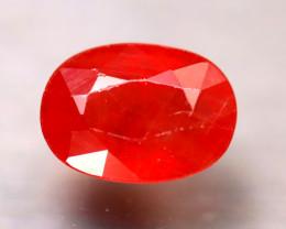 Sapphire 4.51Ct Natural Reddish Orange Sapphire ER287/A38