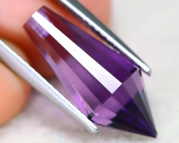 Amethyst 5.30Ct VVS Designer Cut Natural Bolivian Purple Amethyst AT1162