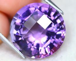Amethyst 10.74Ct VVS Designer Cut Natural Bolivian Purple Amethyst AT1166