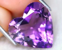 Amethyst 7.79Ct VVS Designer Cut Natural Bolivian Purple Amethyst AT1167