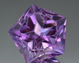 Natural Amethyst 37.29 Cts Top Quality with Precision Cut