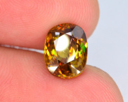 Rare AAA Astonishing Fire 2.35 ct Imperial Sphene ~ AG