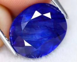 Blue Sapphire 6.70Ct Oval Cut Royal Blue Color Sapphire C2606