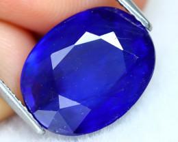 Blue Sapphire  8.22Ct Pear Cut Royal Blue Sapphire B2609