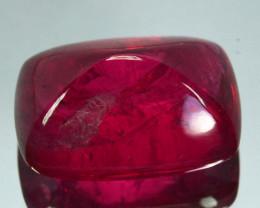 12.66Ct Natural Vivid Red spinel Sugar loaf
