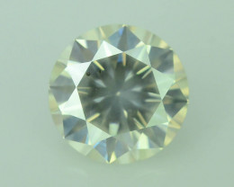 Top Clarity 0.55 ct Natural White Diamond