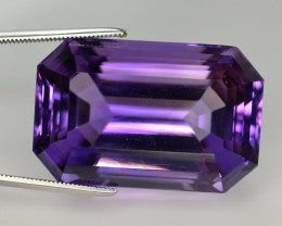 Quality Cutting  52.85 Ct Sparkling Color Natural Amethyst