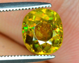 Rare AAA Fire 1.90 ct Sphene~K