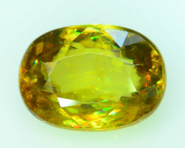 Rare AAA Fire 2.25 ct Sphene~K